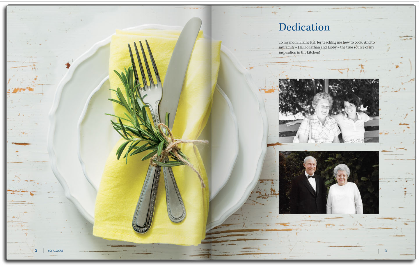 Personalized pages that connect the past to the future.