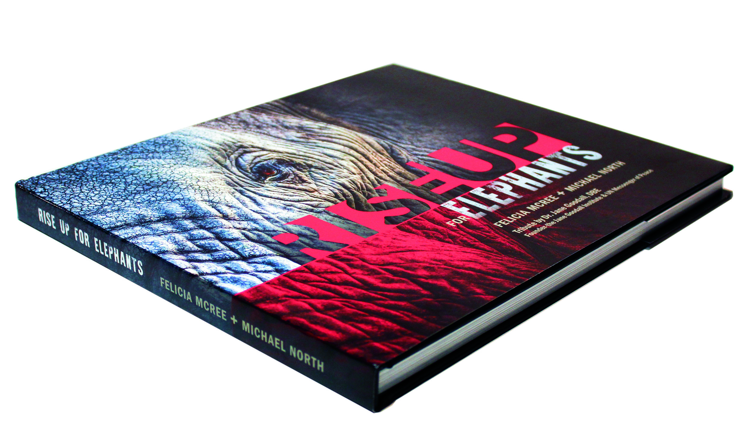 Hardbound cover with glossy dust jacket