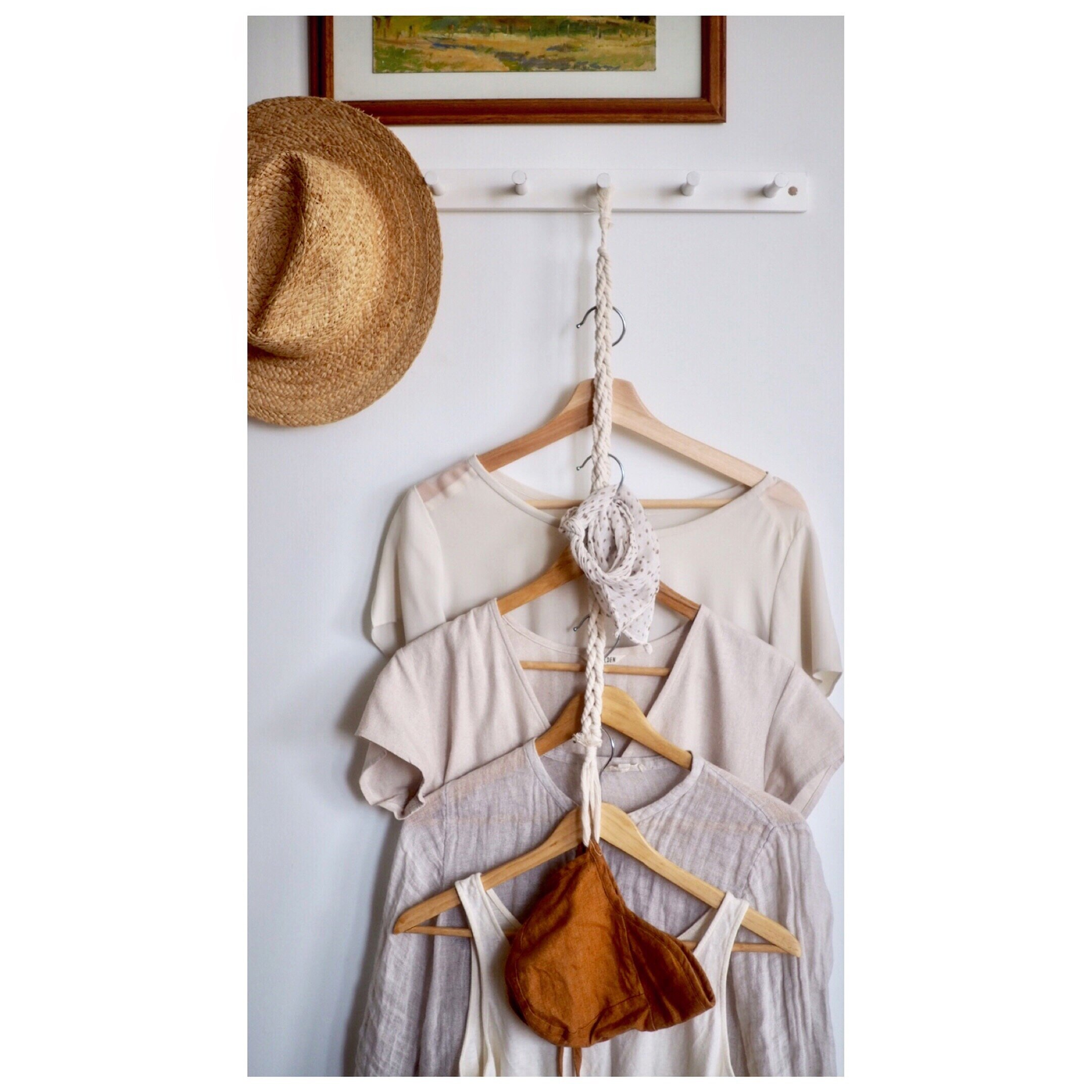 corded clothes hanger