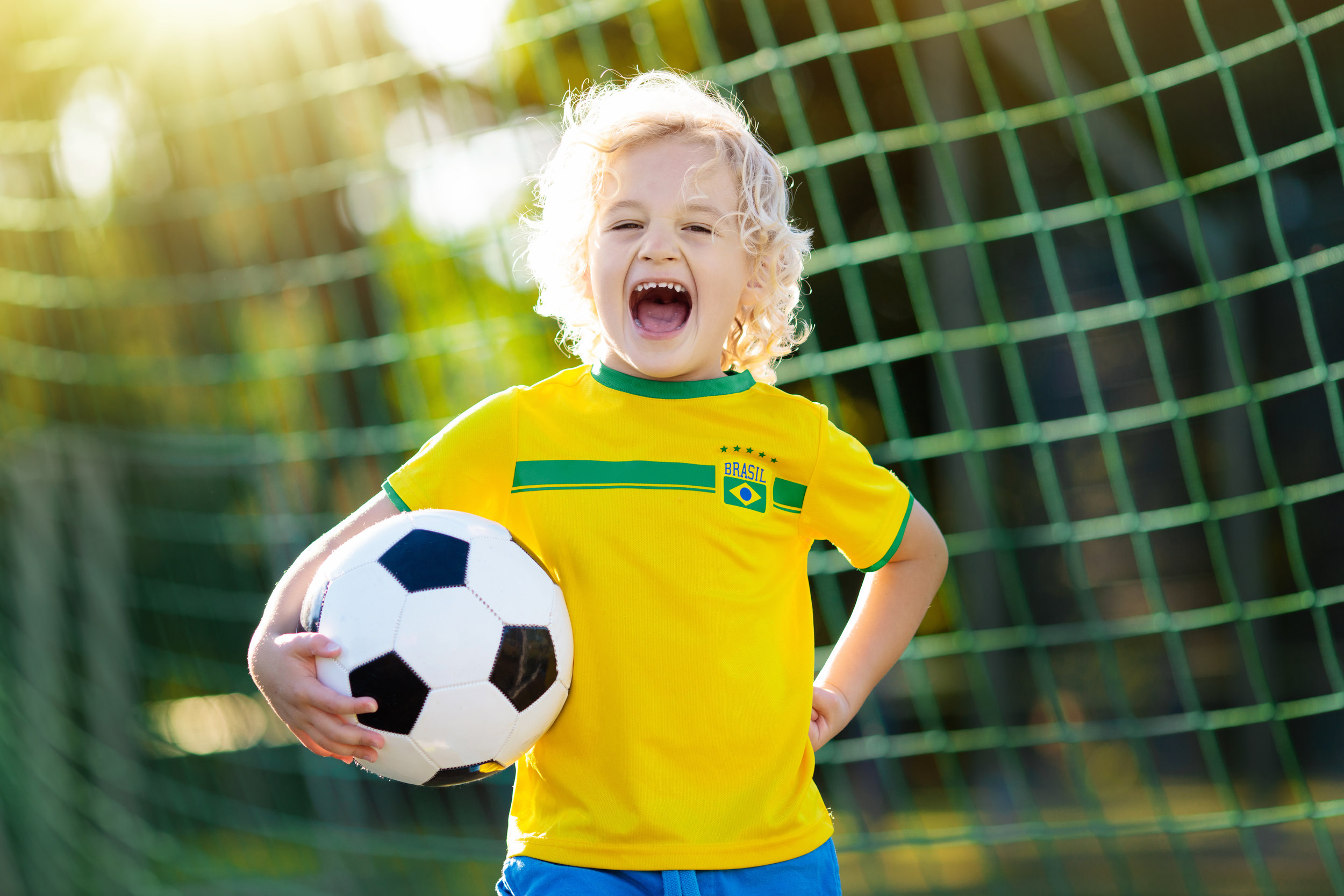 3 - 4 Years - Play games that develop listening skills, as well as agility, coordination, and balance
