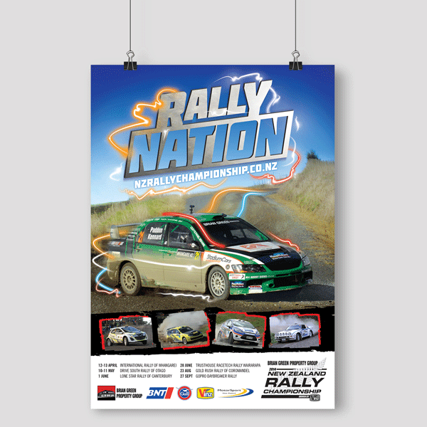 Rally Nation Poster Design