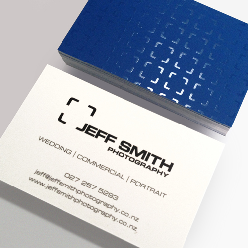 Jeff Smith Business Card Design