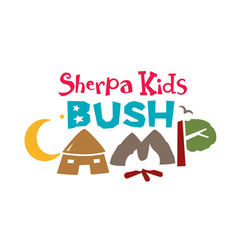 Bush Camp Logo Identity