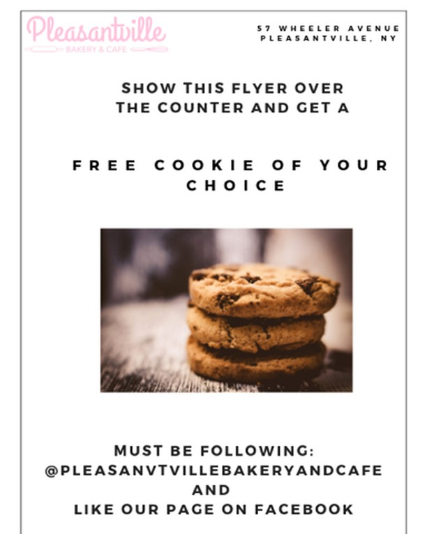 ****FREE COOKIE 🍪 WITH YOUR ORDER**** Show this flyer at the counter and get a FREE cookie of your choice with your order. MUST be following this account and LIKE our page on Facebook!