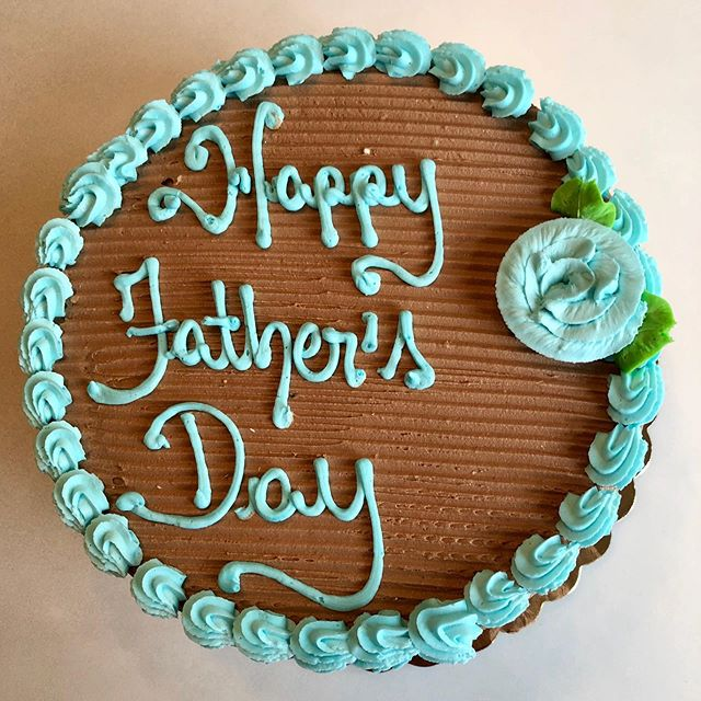 Happy Father's Day to all! Treat your Dad to a treat or two - maybe even a cake! 🎂