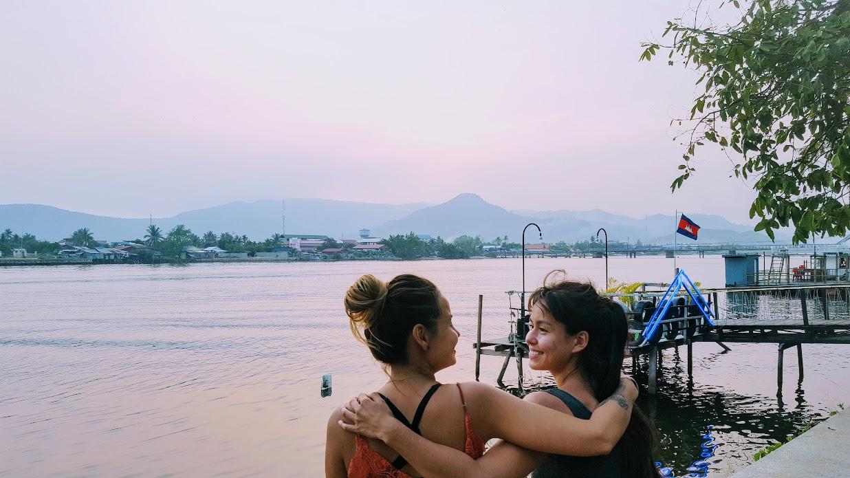 Stundum kíktum við í Kampot. Stundum