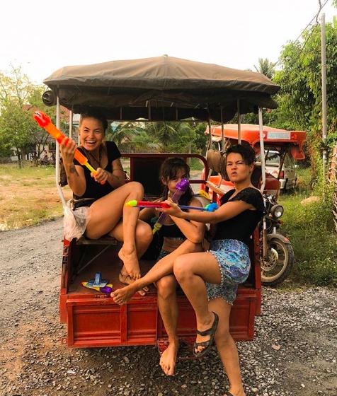 Songrkan in Cambodia