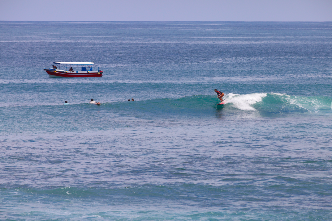 surfing in balipng