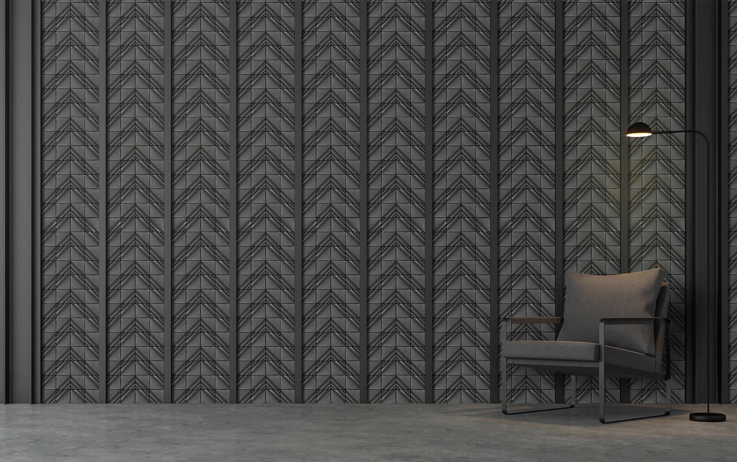 RF442-Shimmer Gray as the wall tiles