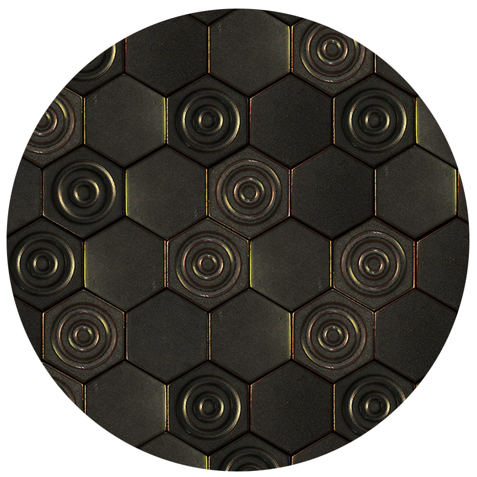 Hex-Cycle for Metalic Gray