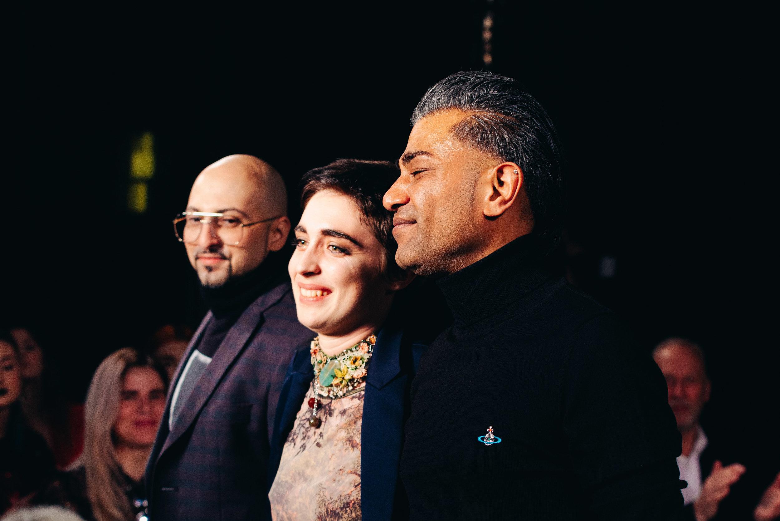 Left: Rene Garza | Middle: Ava J. Holmes | Right: Jatin Patel