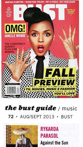 Bust magazine janelle monae