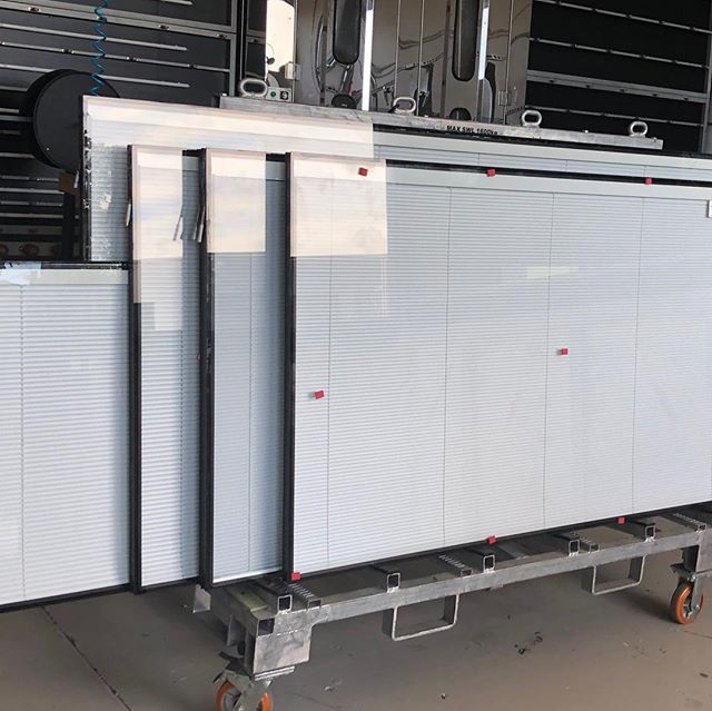 More internal blinds making their way around the country. System TV-VOPN #designandbuild #australianwindowassociation #australianmade #internalblindsystems #softfurnishings #hospitalgrade #tiltonly #tasmania #australiawidedelivery