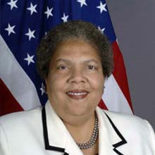 AMBASSADOR RUTH A. DAVIS - CHAIRPERSON, BOARD OF TRUSTEESRuth Davis is a career member of the Senior Foreign Service, Career Ambassador (May 1, 2002). She is presently on detail from the Department of State serving as Distinguished Advisor for International Affairs at Howard University in Washington. Previously, she served as Director General of the Foreign Service and Director of Human Resources from June 1, 2001 to June 30, 2003. Before assuming the position of Director General, Ambassador Davis was Director of the Foreign Service Institute from July 1997 to June 2001. Prior to this assignment, she was the Principal Deputy Assistant Secretary for Consular Affairs (December 1995 – July 1997). Before joining the Bureau of Consular Affairs, she was Ambassador to the Republic of Benin (December 1992 – November 1995). Following her assignment as Consul General in Barcelona, Spain, (1987-1991), Ambassador Davis was a member of the 34th Class of the Senior Seminar (1991-1992) which is the highest level of executive training offered by the US Government.Ambassador Davis joined the Foreign Service in 1969 and was assigned as Consular Officer in Kinshasa, Zaire (1969-1971). Specializing in consular affairs, she also served in Nairobi, Kenya (1971-1973), Tokyo, Japan (1973-1976) and Naples, Italy (1976-1980). She returned to the United States as a Pearson Fellow working as Special Advisor for International Affairs for the Washington, DC Municipal Government.Ambassador Davis' previous assignments in the Department of State include Senior Watch Officer in the Operations Center (1982-1984) and Chief of Training and Liaison in the Bureau of Personnel. While in the latter position, she was invited to attend the Aspen Institute in Colorado, an honor generally reserved for officers with the rank of Ambassador. Ambassador Davis was assigned to the NATO Defense College, but declined in order to assume the position of Consul General in Barcelona.