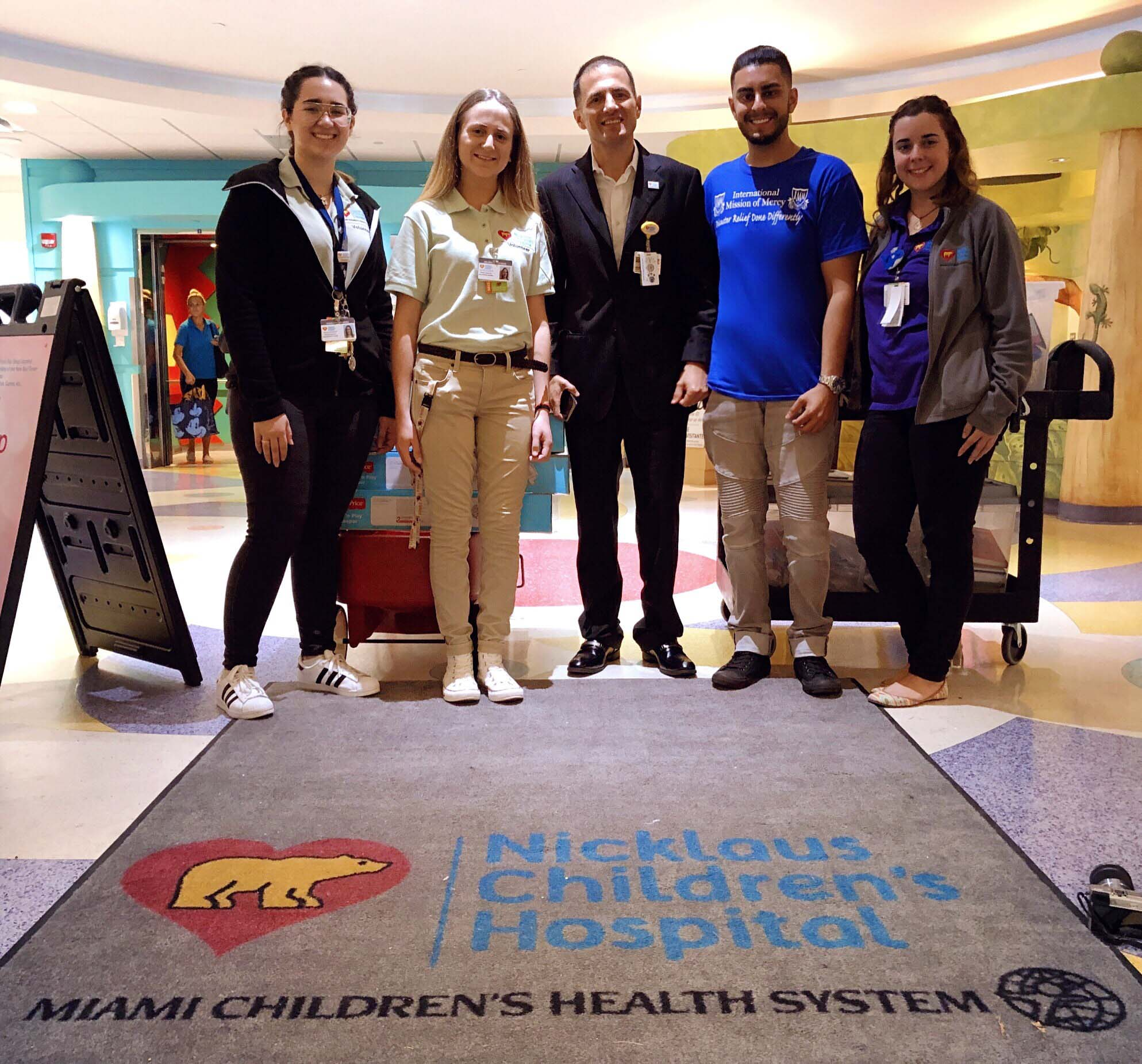 - Ray Mehtani, founder's grandson, delivered several donation items to Miami Children Hospital.Please make donations to our Hurricane Irma 2017 Disaster Relief Fund
