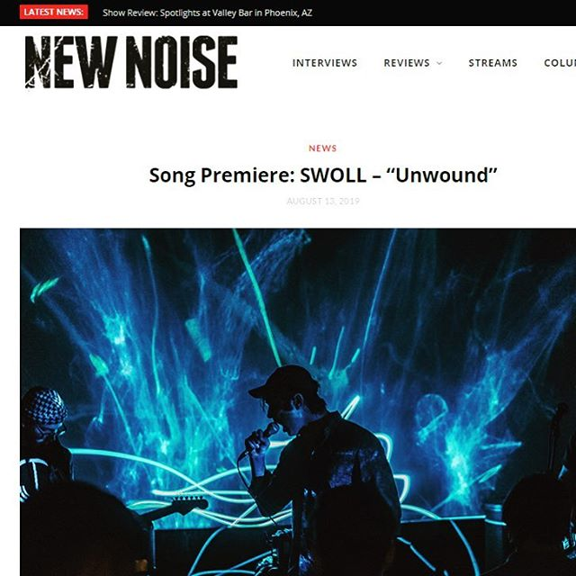 "Premiere of title track ""Unwound"" up at @newnoisemagazine (link in bio ☝️). Have a listen and head over to swoll.bandcamp.com to pre-order the record on vinyl, cd and digital. Props to @brernotbrunch @greygoon @districtsoundlab for their work on the song. Stay tuned for more! . . . . . . . .  #stagephotography #rocknroll #concertphoto #newmusic #concertphotos #androidography #androidnesia #androidinstagram #instaandroid #focalmarked"