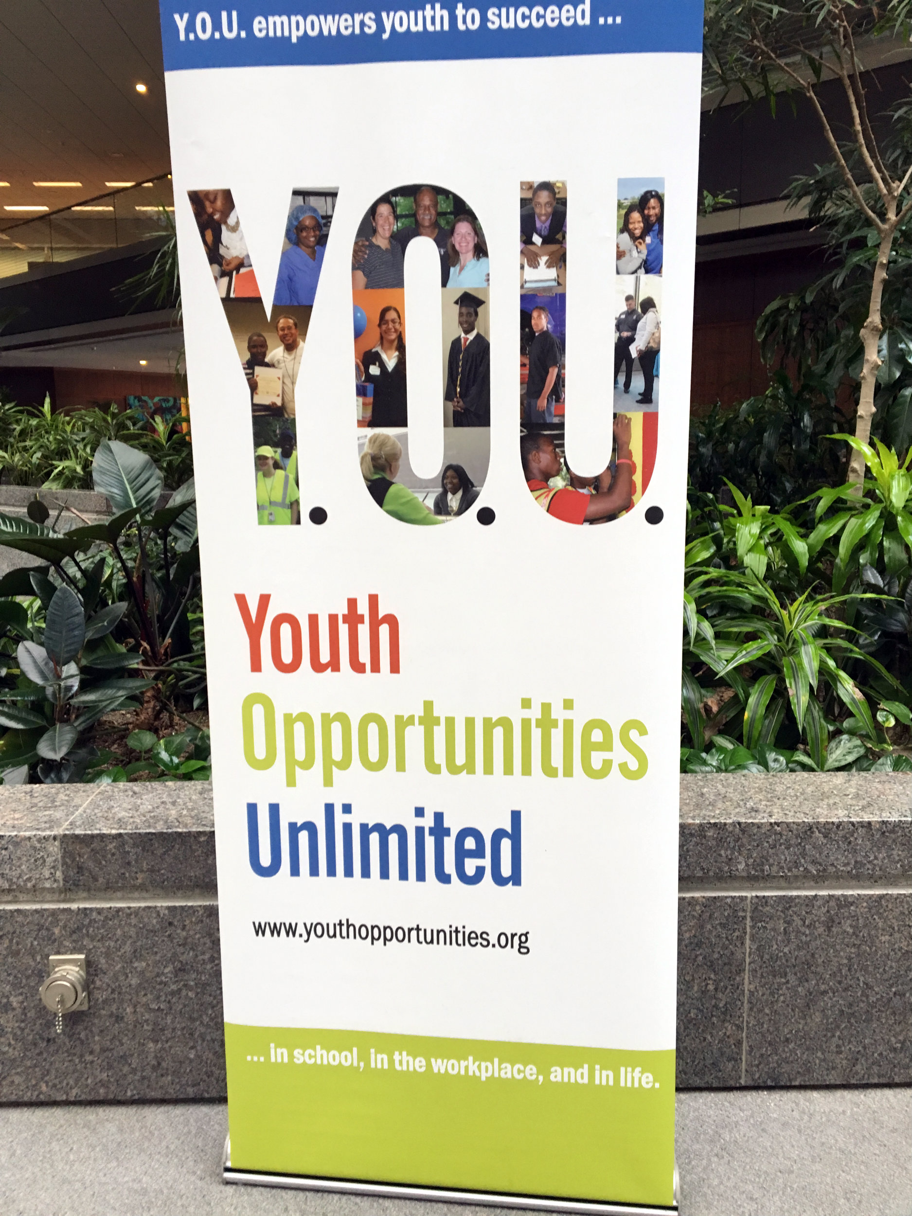 Designer Walls Youth Opportunities Unlimited Banner