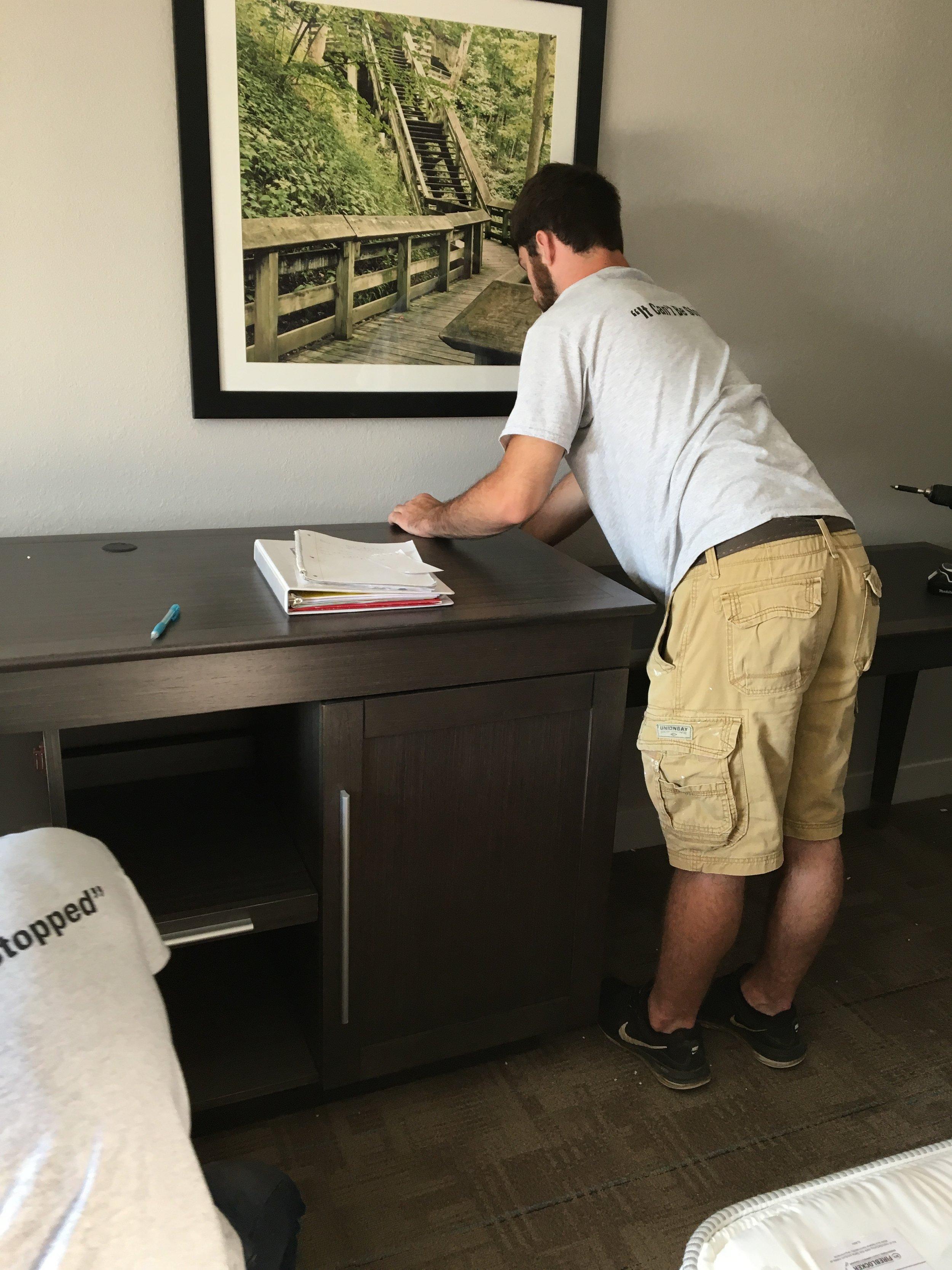 FF&E installers ohio Designer Walls Inc