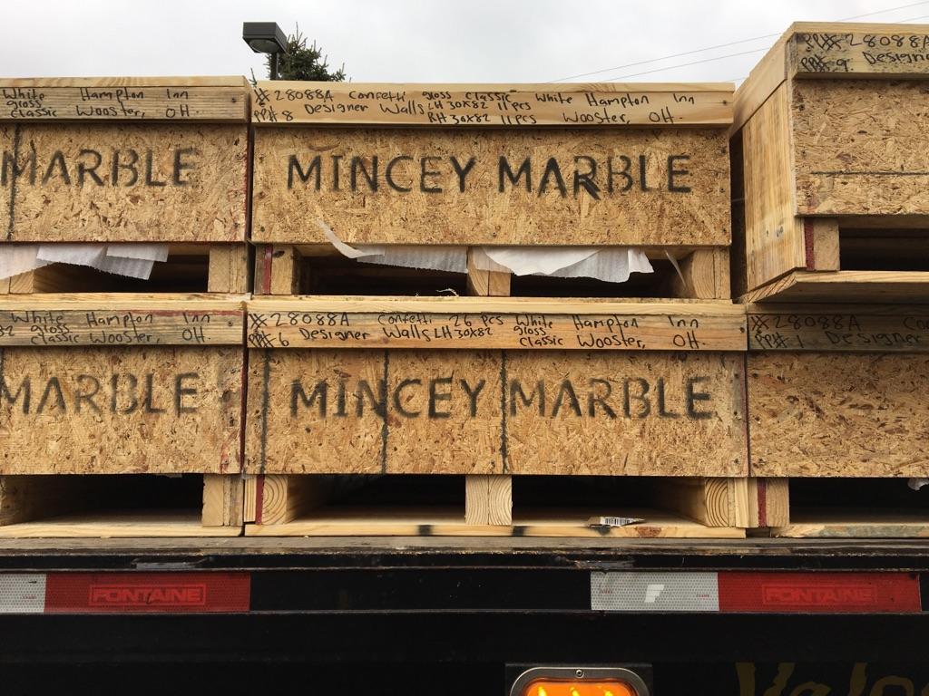 mincey marble installer