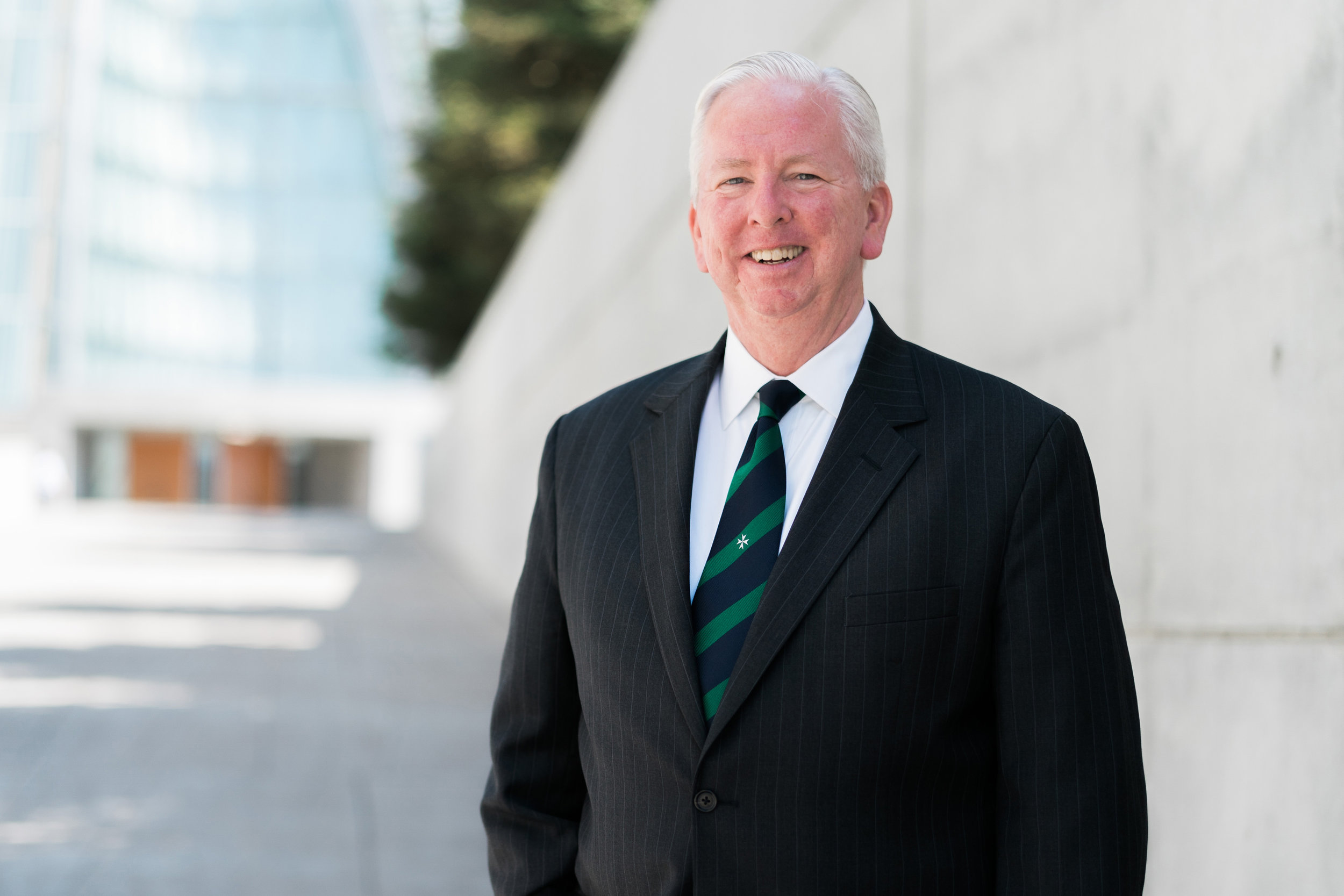 John Christian, Esq, KM (Board Chair) <br><em> Attorney, Executive Director, Real Property Support Corporation for the Archdiocese of San Francisco </em>