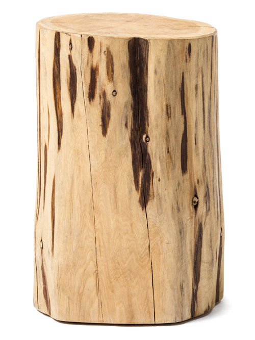 Otto Tree Stump Side Table Kennedy Collection