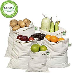 Organic Cotton Produce Bag  OR  make your own