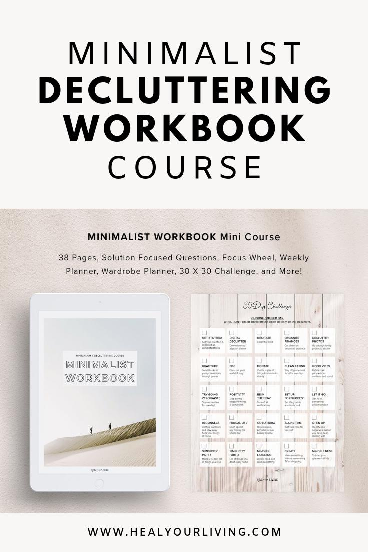minimalist decluttering workbook course, decluttering planner.png