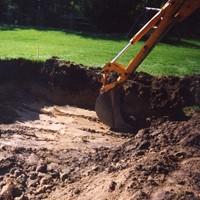 Site Work (5-7 days) - Lot stakedExcavationDirt work