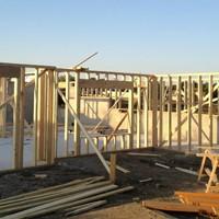 Framing (25-30 days) - Exerior and interior walls framedExterior siding and masonry walls installedFraming inspectionRoof shingled