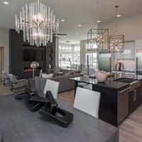 Finish (30-40 days) - Cabinets installedTrim constructedHardwood flooringTile/stonePainting