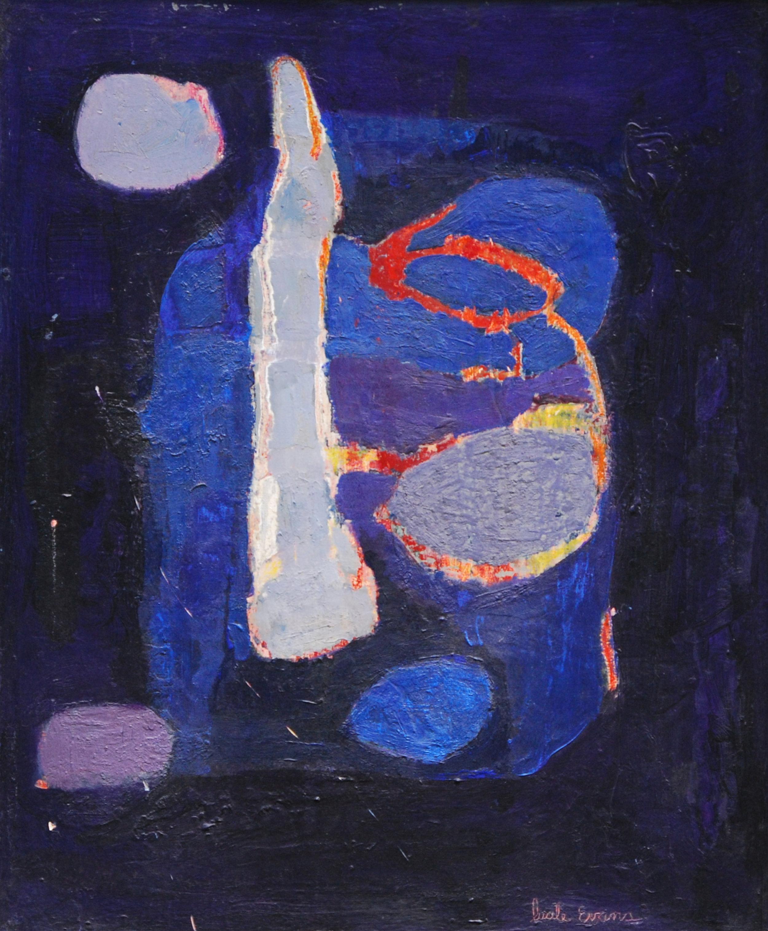 Rosemary- 1955, wax encaustic on masonite, 28_ X 32_.jpg