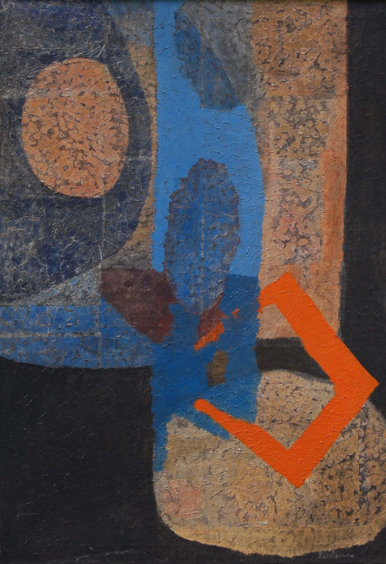 Trap, 1960s, acrylic on canvas, 46_x43_.jpg