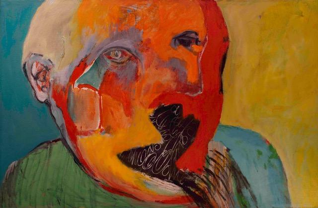 Apology. 1999.Acrylic on Canvas 40 x 55 in. (101.6 x 139.7 cm.).jpeg