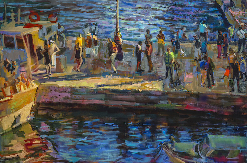 Pier , Grant Drumheller