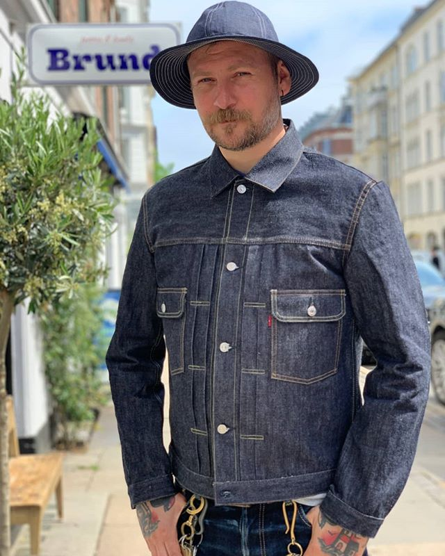 Ready for @CIFFdk/ @NorthModern and to see you guys from @brundcph. The great jeans and boots are always worth a visit when you're in Copenhagen! . . . #rawdenim #denimhat #sunhat #brundcph #jeansandboots #bestintown #copenhagen #selvedgerun #zeitgeist #craftedgoods #qualitygoods #craftsmanship