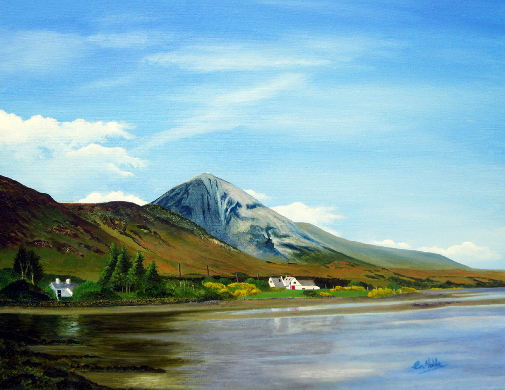 Croagh Patrick From The Old Coast Road