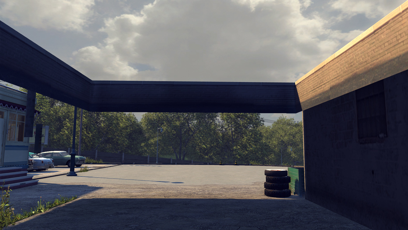 The garage, Mafia 2