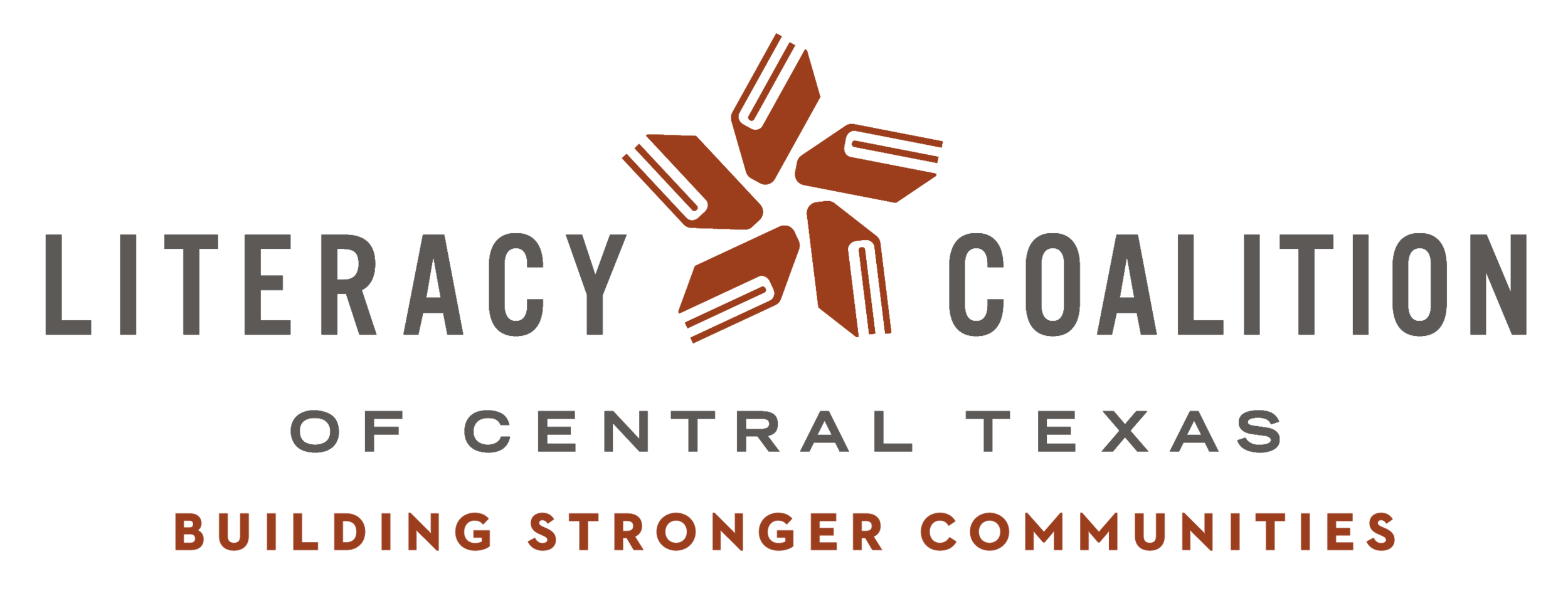 Logo for Literacy Coalition of Central Texas - Building Stronger Communities