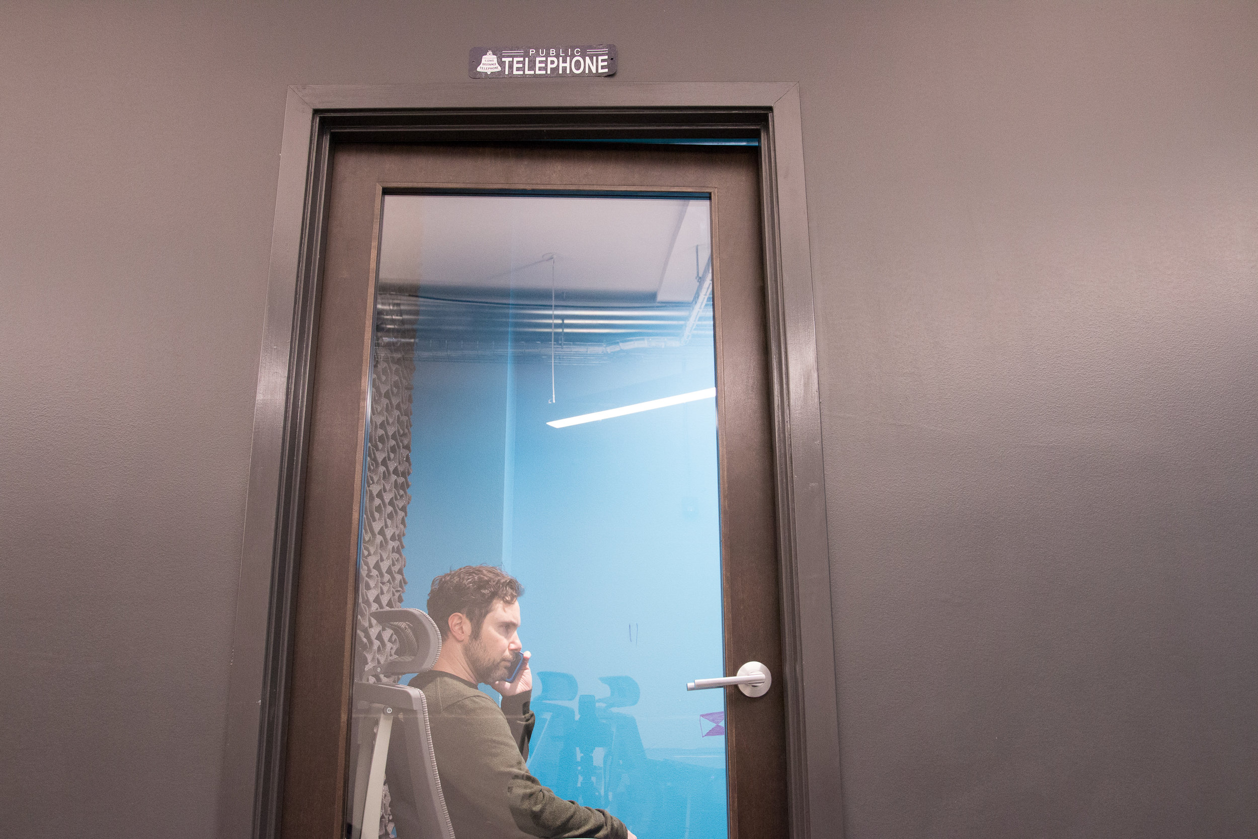 Private call rooms