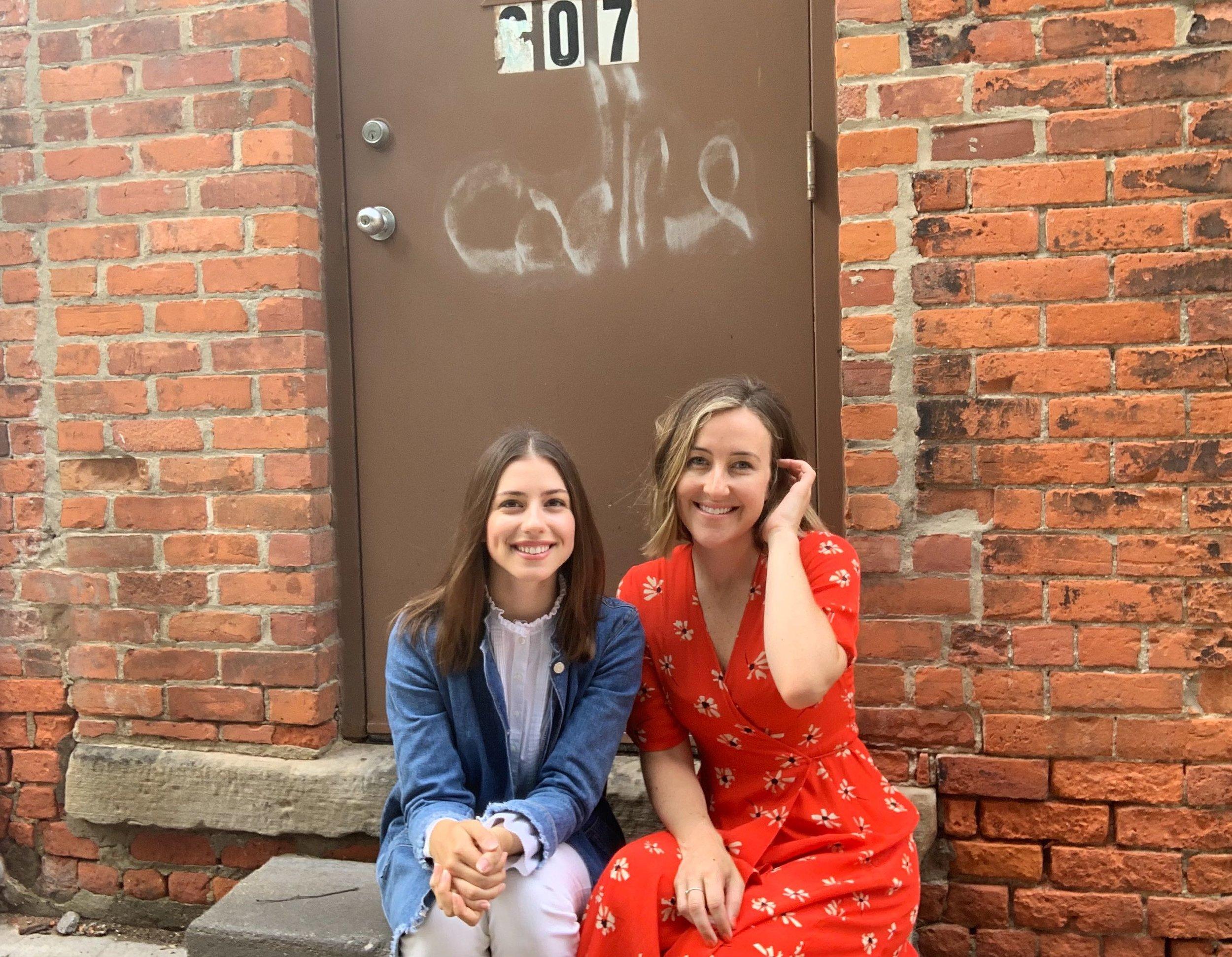 Rachel Phillips (left) and Katelyn Kelly (right)
