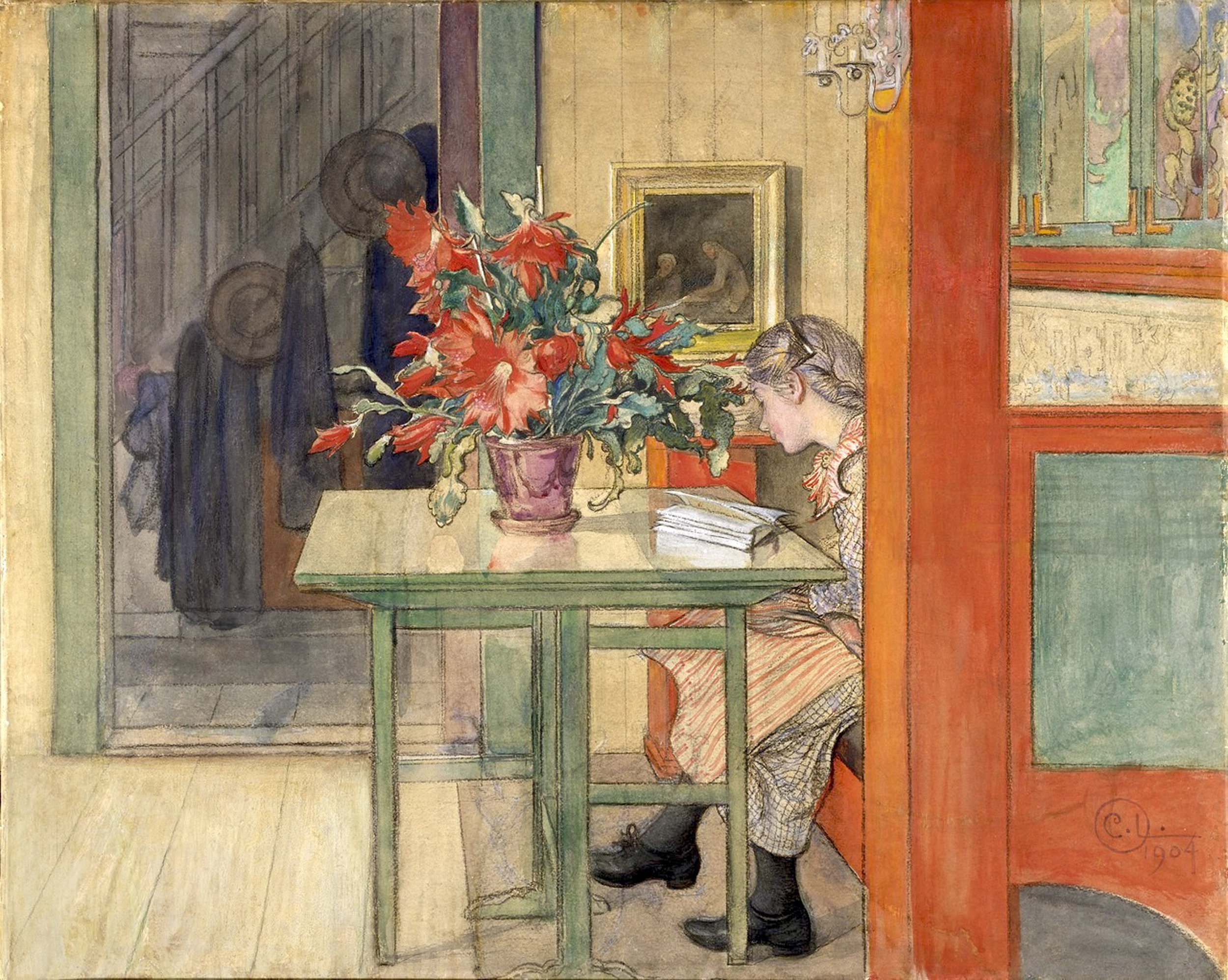 Carl Larsson | Lisbeth Reading.jpeg