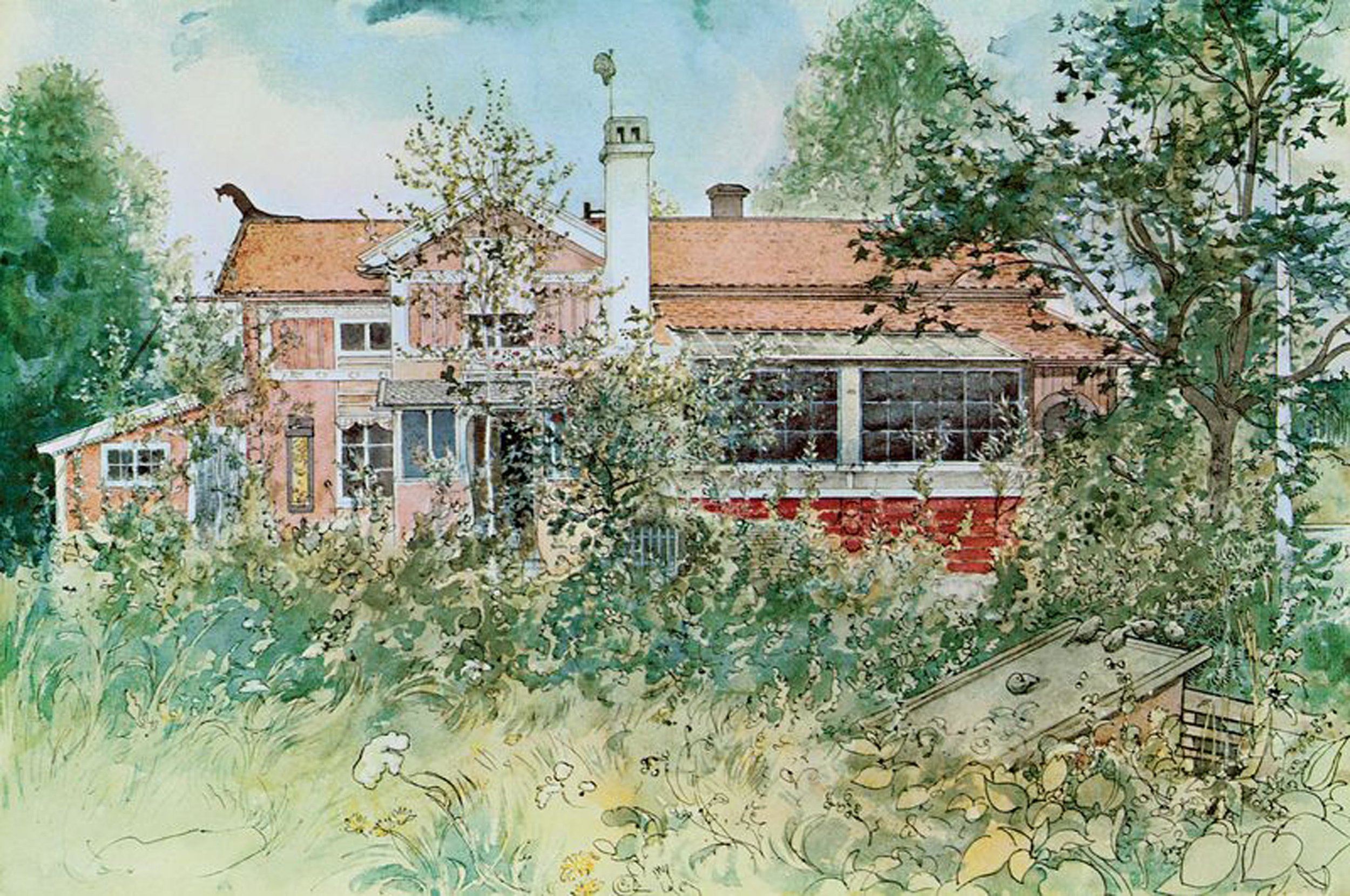 Carl Larsson | The Cottage 1899.jpeg