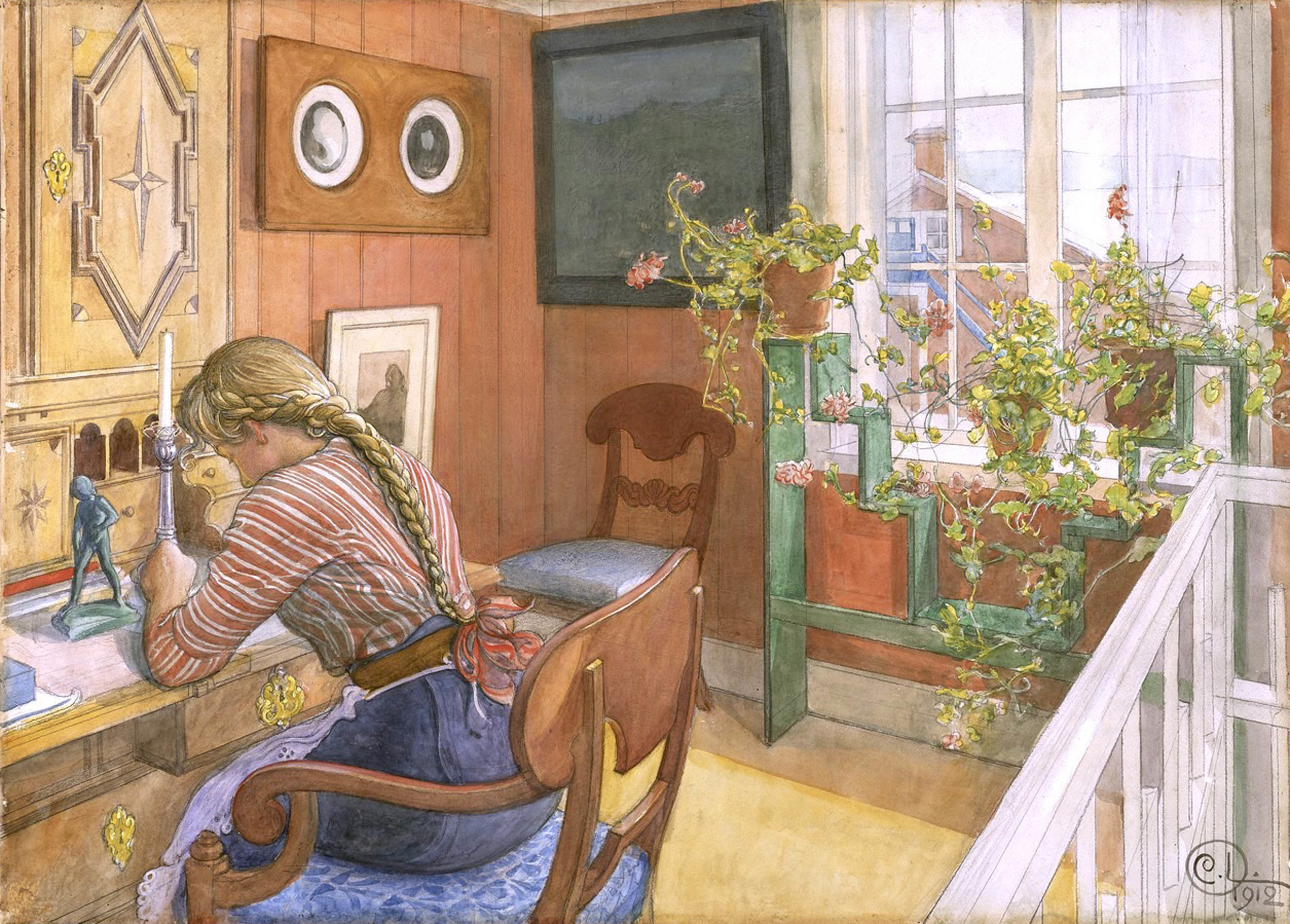 Carl Larsson   Writing Letters 1912.jpeg