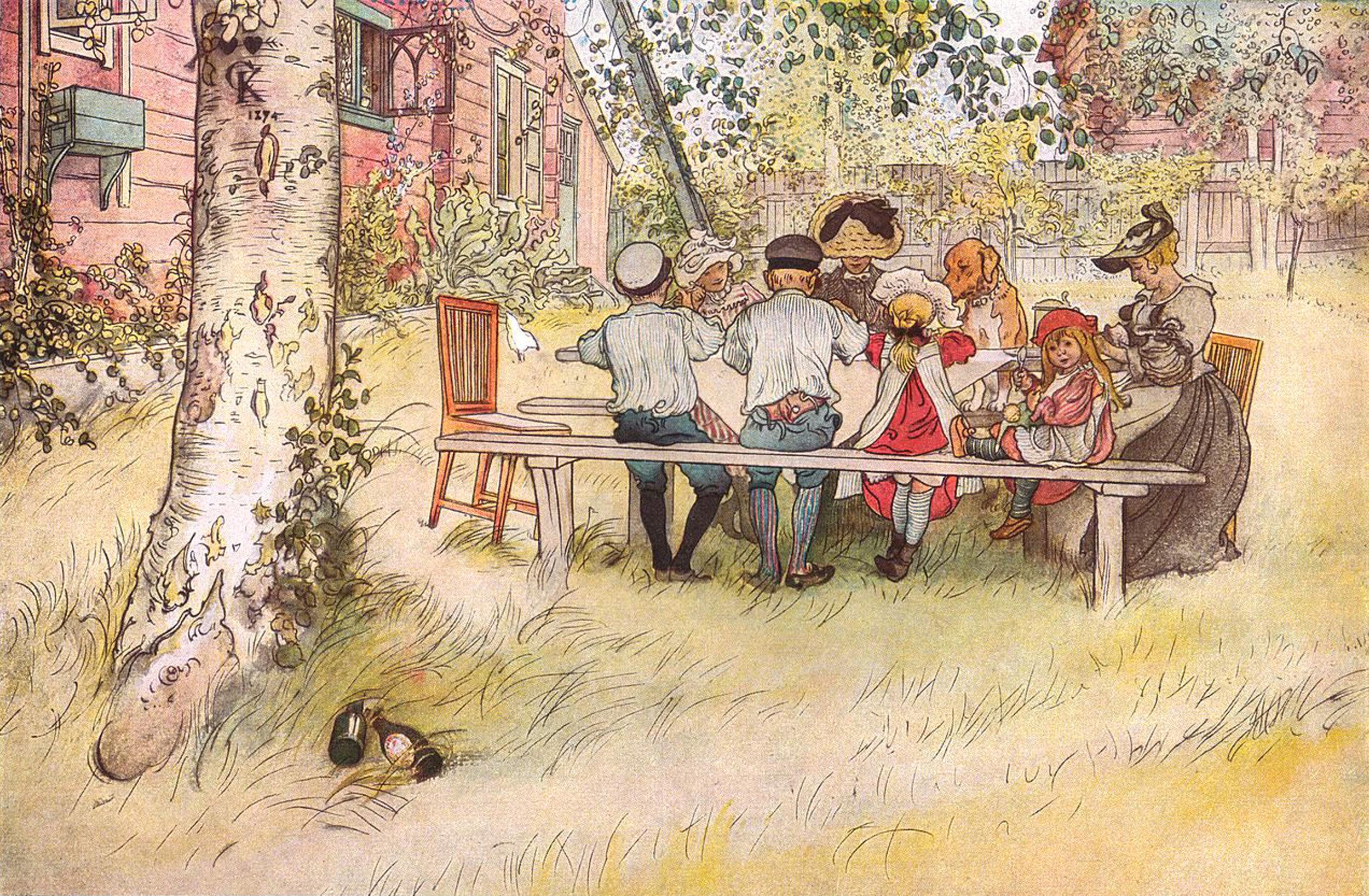 Carl Larsson   Breakfast under the Big Birch 1896.jpeg