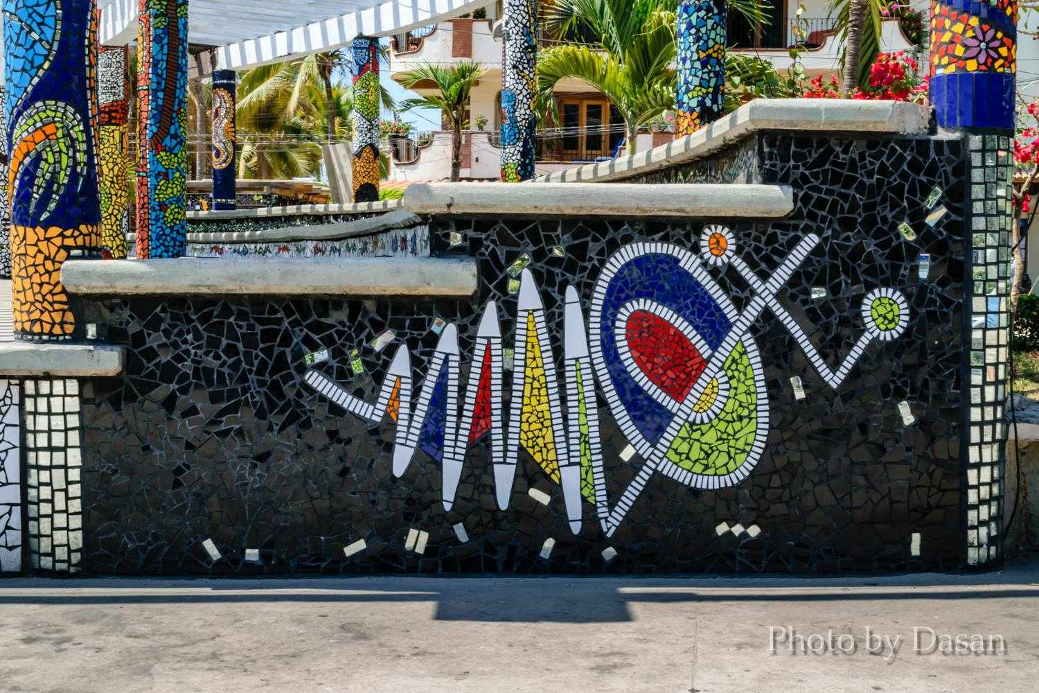 WElcome to el parque de los azulejos - Puerto Vallarta's first ever Mosaic Tile Park