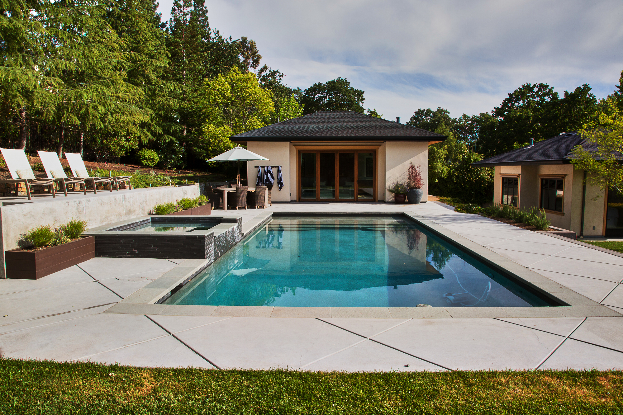 POOL - Whether building a new pool or remodeling an existing, we have the expertise and team to handle any size project.