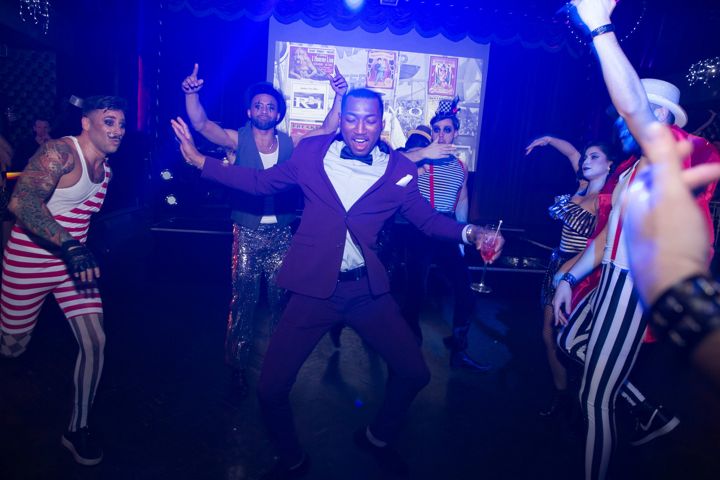 Circus Theme Holiday Party -  click to see full event gallery