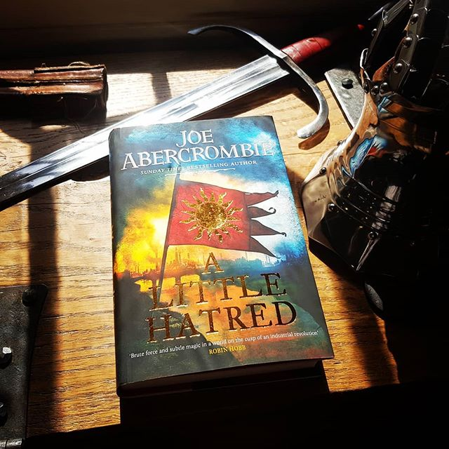 I am ready to begin.... #joeabercrombie #joeabercrombiebooks #lovereading #lordgrimdark #fantasy #novel #alittlehatred