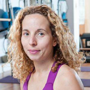 Chérhine Saïah, praticienne ELDOA et Pilates