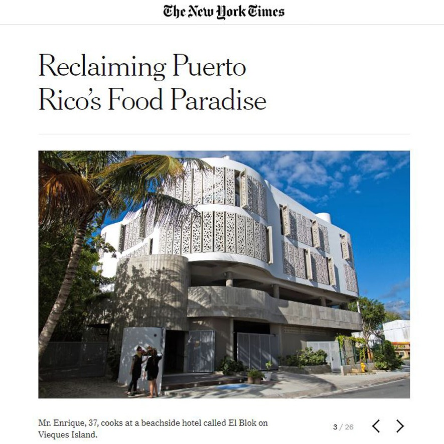 14. NYTimes (Reclaming PuertoRico's food Paradise).JPG